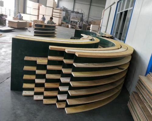 异形木模板